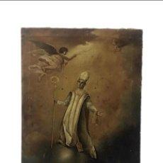 Arte: SAN NARCISO , PATRÓN DE GERONA, MILAGRO DE LAS MOSCAS, SIGLO XIX. Lote 183973685
