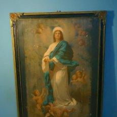 Arte: CUADRO VIRGEN S XIX. Lote 183977207