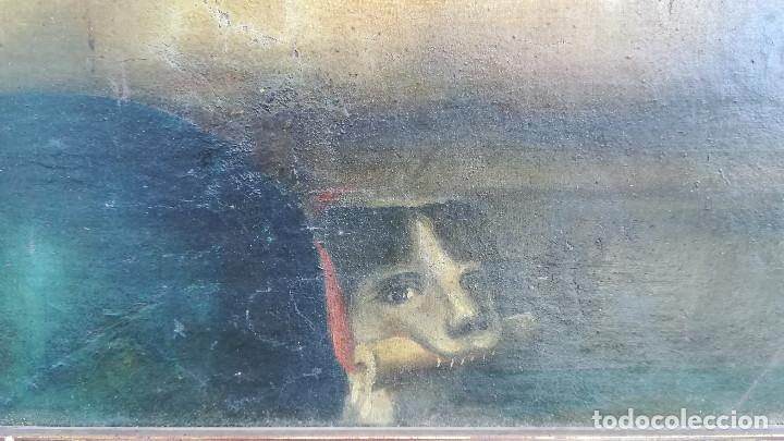 Arte: OLEO SOBRE LIENZO VIRGEN DEL ROSARIO - Foto 5 - 184108762