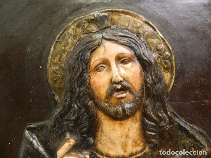 Arte: Salvator Mundi, escuela italiana - Foto 2 - 184116468