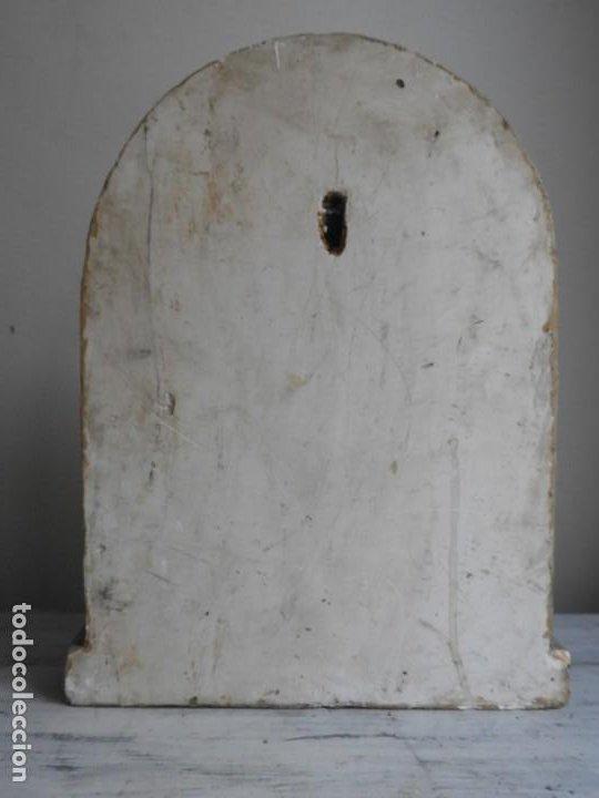 Arte: IMAGEN EN ESCAYOLA DE ARCANGEL CON NIÑO PARA COLGAR - Foto 4 - 184170427