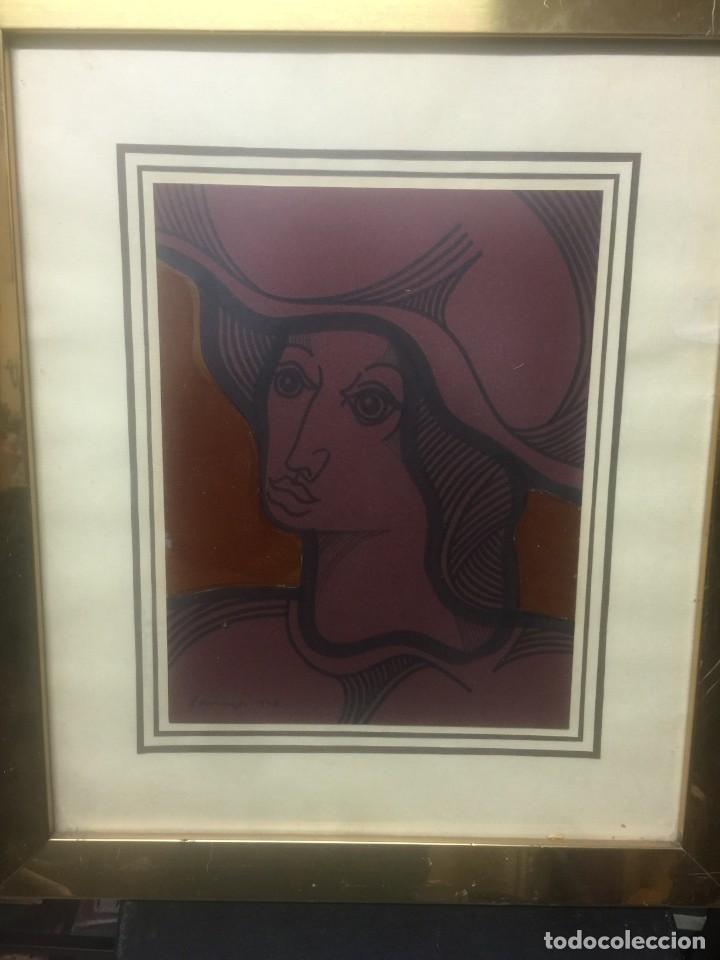 OBRA DEL FAMOSO PINTOR JOSE MARIA PARRAGA (Arte - Arte Religioso - Pintura Religiosa - Otros)