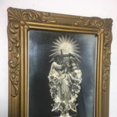 Arte: ORIGINAL ANTIGUO CUADRO BONITA VIRGEN MADRE DE MISERICORDIA LITOGRAFÍA. MEDIDAS FOTOGRAFIADAS. Lote 204266150