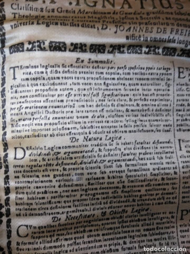 Arte: EXCEPCIONAL TAPIZ RELIGIOSO RECONOCIMIENTO AL HONOR,GRABADO IMPRESO SOBRE SEDA Y BORDADO.AÑO 1760 - Foto 27 - 184493476