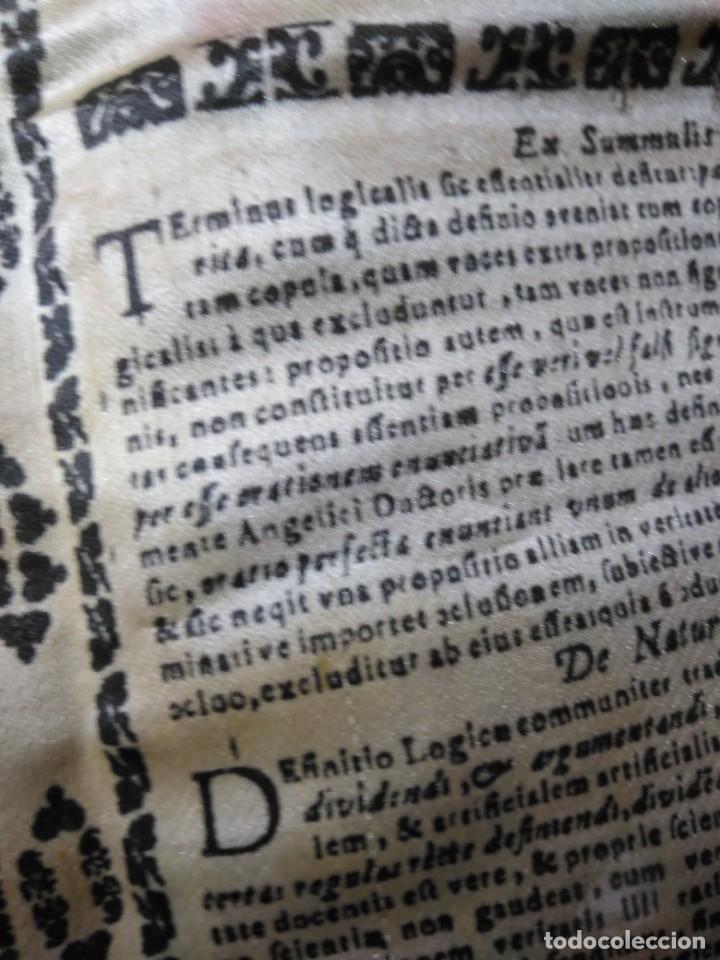 Arte: EXCEPCIONAL TAPIZ RELIGIOSO RECONOCIMIENTO AL HONOR,GRABADO IMPRESO SOBRE SEDA Y BORDADO.AÑO 1760 - Foto 28 - 184493476