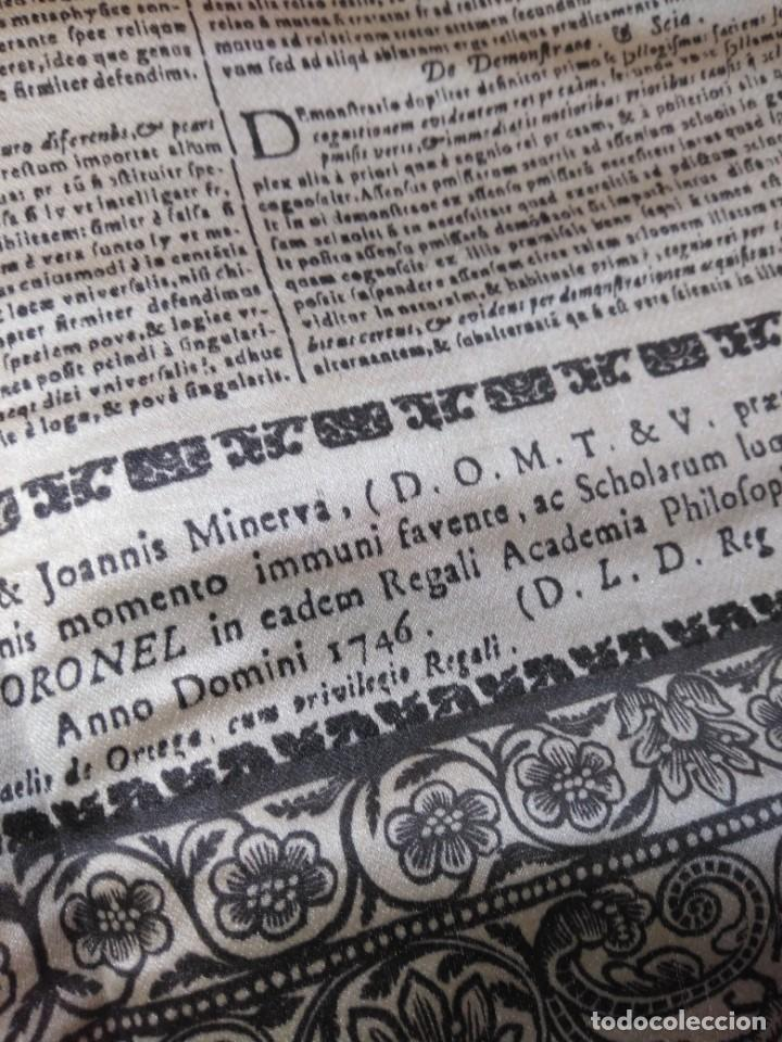 Arte: EXCEPCIONAL TAPIZ RELIGIOSO RECONOCIMIENTO AL HONOR,GRABADO IMPRESO SOBRE SEDA Y BORDADO.AÑO 1760 - Foto 33 - 184493476