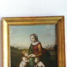 Arte: OLEO VIRGEN DEL PRADO. Lote 184529580
