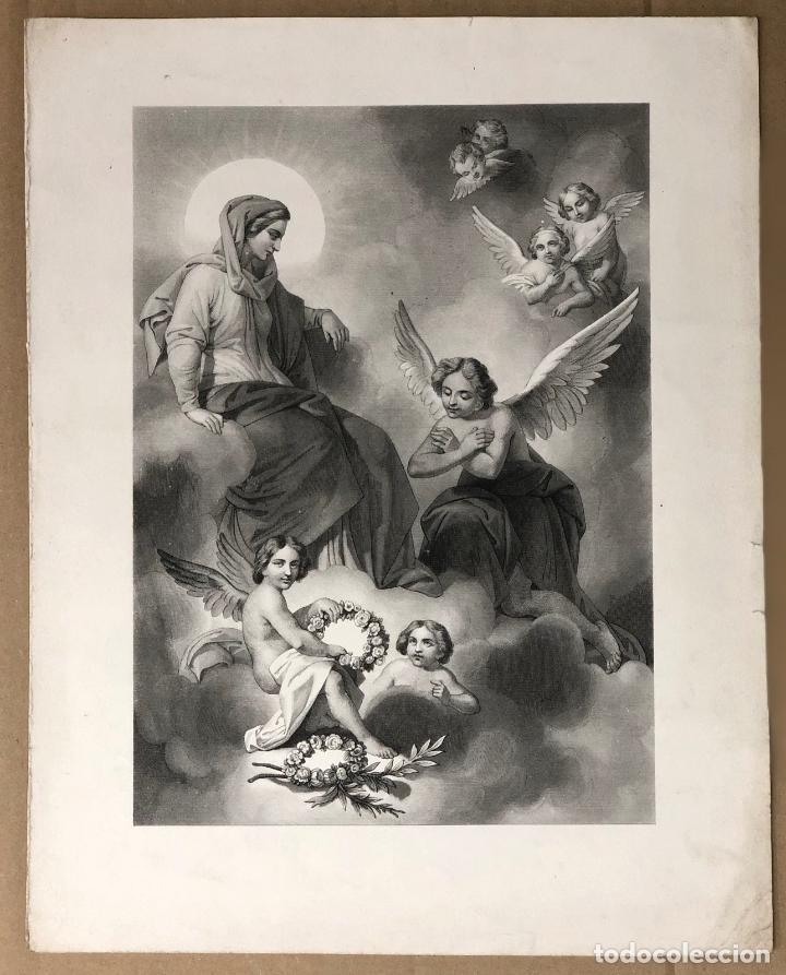 GRABADO RELIGIOSO. SIGLO XIX (Arte - Arte Religioso - Grabados)