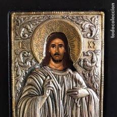 Arte: ICONO BIZANTINO PANTOCRATOR - CLARTÉ. Lote 184635142