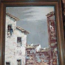 Arte: ÓLEO SOBRE TABLA FIRMADO GUILLEM OCASION. Lote 184670897