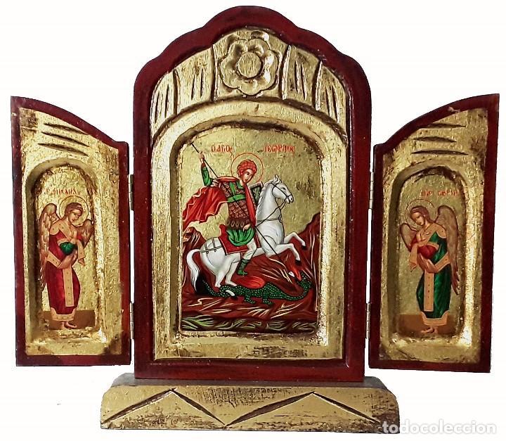 SAN JORGE (Arte - Arte Religioso - Trípticos)
