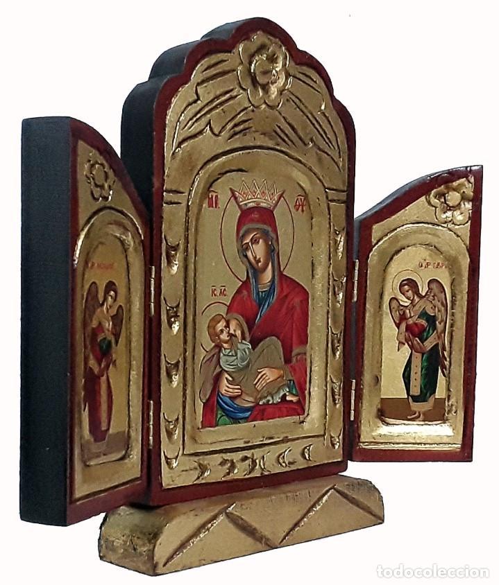 Arte: Virgen con el ninio - Foto 2 - 184704923