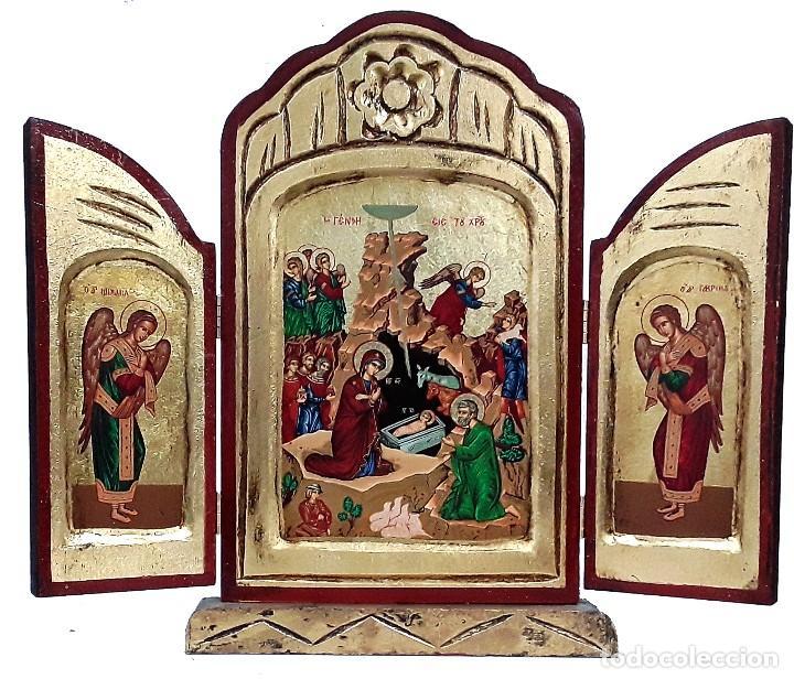 NATIVIDAD (Arte - Arte Religioso - Trípticos)