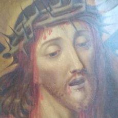 Arte: CRISTO BAROCCO SIGLO XVIII. ITALIA ÓLEO SOBRE COBRE.. Lote 184705156