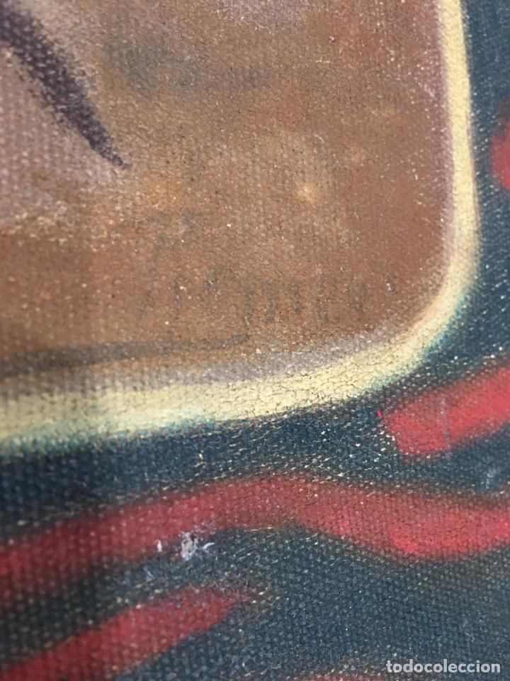 Arte: PINTURA RELIGIOSA ANTIGUA - SAN JOSE Y EL NIÑO JESUS - FIRMADO - RAFAEL ROMEU ? - Foto 7 - 182905098
