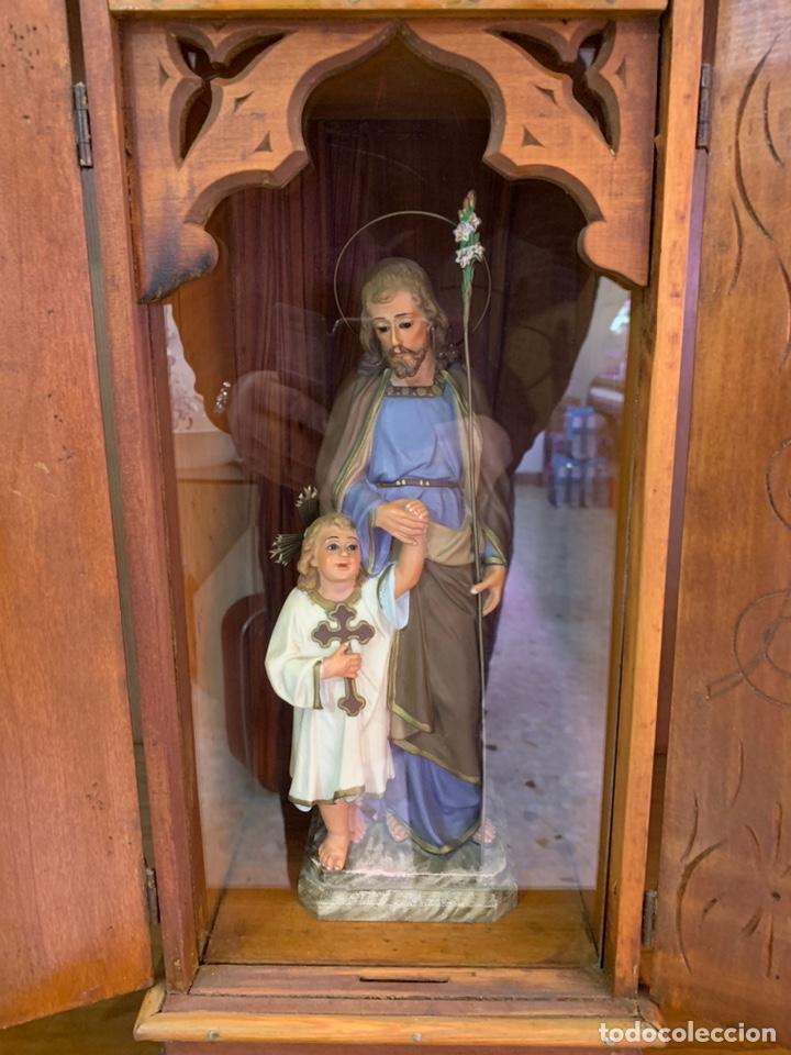 Arte: Capilla limosnera con imagen de San José. - Foto 2 - 184773566