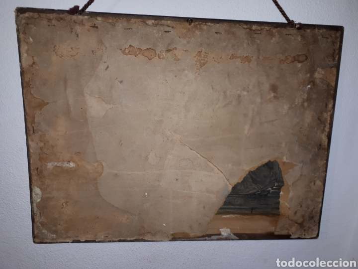 Arte: Cuadro la ultima cena de Jesús de metal platiado - Foto 9 - 185712356