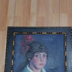 Arte: RAMON PAUS ALSINA-FECHADO 1916 NACIDO EN CASTELLON PINTOR DE LA BELLE EPOCA. Lote 185746561