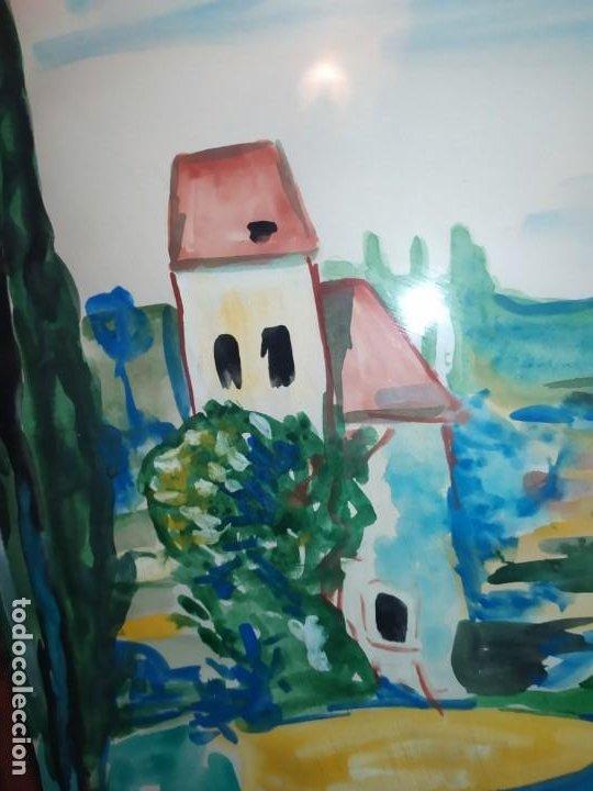Arte: DIBUJO ACUARELA FIRMADO LLAVADOR PRECIOSO - Foto 3 - 185752640