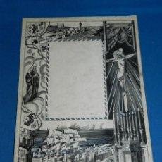 Arte: (M) DIBUJO ORIGINAL PARA EFECTUAR UN GOZO, PRINCIPIOS DEL S.XX - 34X23 CM, SEÑALES DE USO NORMALES. Lote 185959903