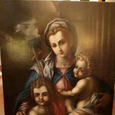 Arte: VIRGEN CON NIÑOS. SIGLO XIX. Lote 186009651