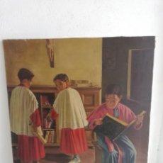 Arte: CUADRO OLEO DE MANUEL SOTERAS 1941. Lote 186026303