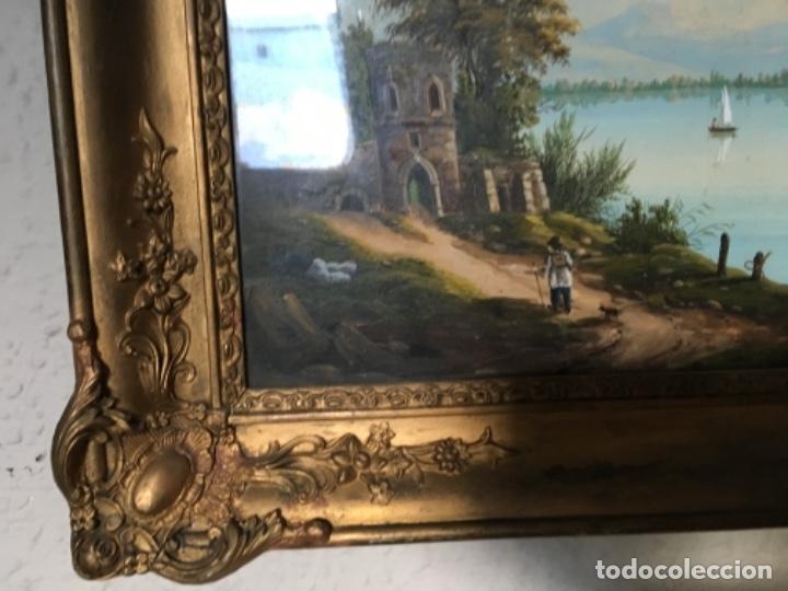 PAISAJE SIGLO XIX (Arte - Arte Religioso - Pintura Religiosa - Acuarela)