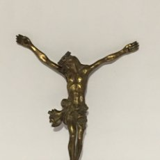 Arte: CRISTO ANTIGUO DE BRONCE - SIGLO XVIII. Lote 186248107