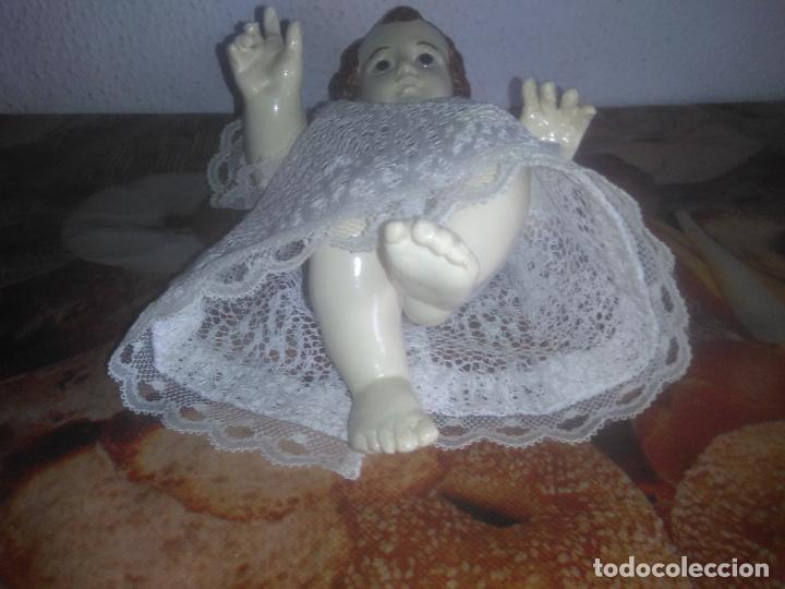 Arte: Antiguo niño Jesús ojos de cristal vestido ver fotos - Foto 8 - 186320756