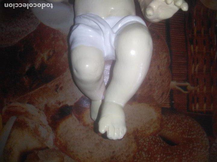 Arte: Antiguo niño Jesús ojos de cristal vestido ver fotos - Foto 19 - 186320756