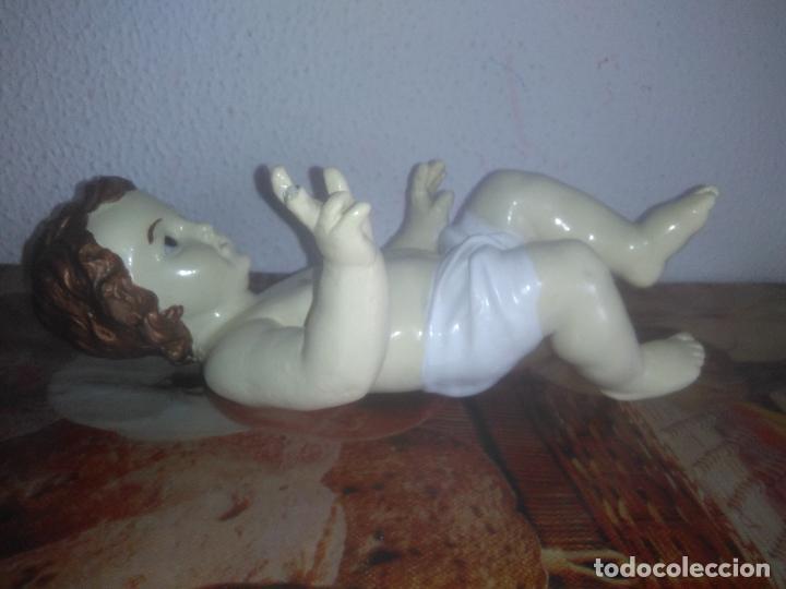 Arte: Antiguo niño Jesús ojos de cristal vestido ver fotos - Foto 25 - 186320756