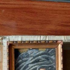 Arte: PRECIOSO OLEO SOBRE TABLA CON IMAGEN DE NTRO PADRE JESUS DEL GRAN PODER 17X13 CM CON MARCO. Lote 186571923