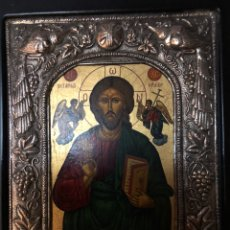 Arte: ICONO GRIEGO EN PLATA DE 925.. Lote 186605811