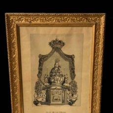Arte: VIRGEN DE LA PEANA DE BORJA, , PRECIOSA, GRABADO ANTIGUO.. Lote 187080675