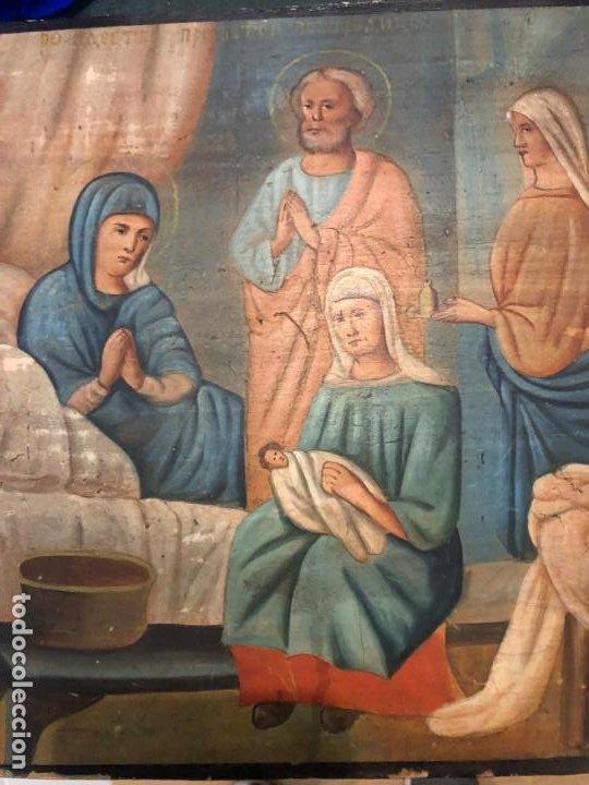 ICONO ORTODOXO, NACIMIENTO DE JESUS (Arte - Arte Religioso - Iconos)