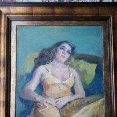 Arte: XABIER BLANCH Y PLA(BARCELONA 1918 - MADRID 1999) SERIE: COQUETERÍA. Lote 187178641