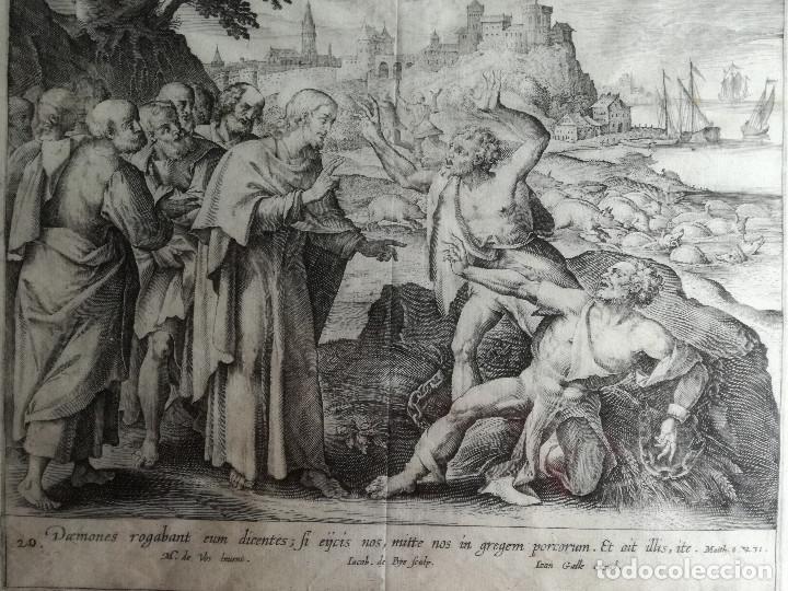 Arte: Jan o Johannes Galle : Fecha: (1600-1676) Bélgica . - Foto 2 - 187185146