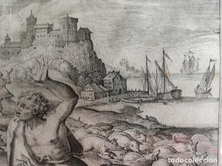 Arte: Jan o Johannes Galle : Fecha: (1600-1676) Bélgica . - Foto 5 - 187185146