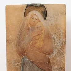 Arte: VIRGEN EN ALABASTRO A. CASAMOR . Lote 187204177