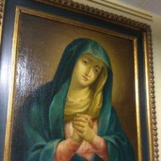 Arte: OLEO SOBRE LIENZO VIRGEN DE LA SOLEDAD - VIRGEN DOLOROSA - MADONNA - SIGLO XVIII -. Lote 187214567