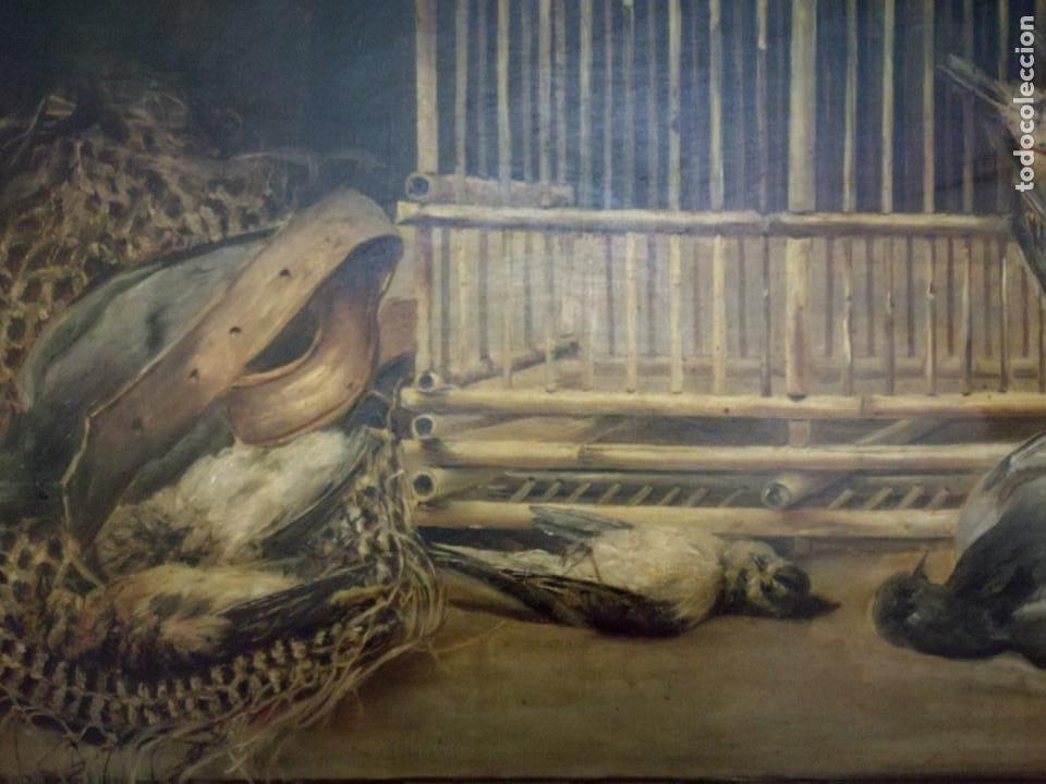 ENCARNACIÓN BUSTILLO SALOMÓN (BURGOS, 1876 - ?) Y LAS FLORES Y CAZA MUERTA. (Arte - Arte Religioso - Pintura Religiosa - Oleo)