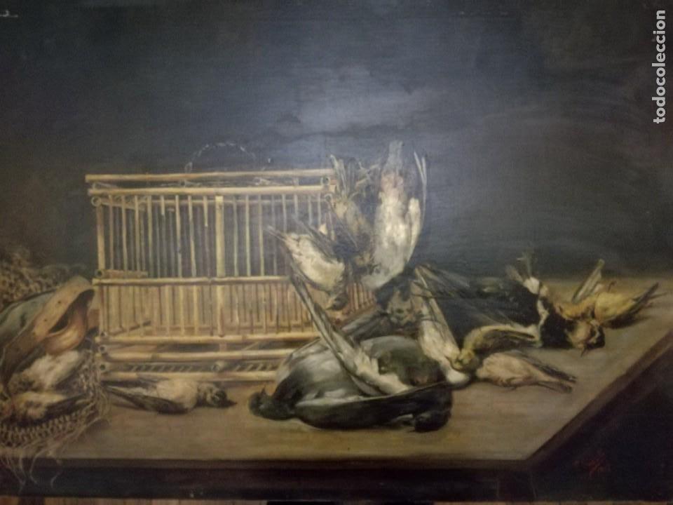 Arte: Encarnación Bustillo Salomón (Burgos, 1876 - ?) Y las flores y caza muerta. - Foto 5 - 187391926