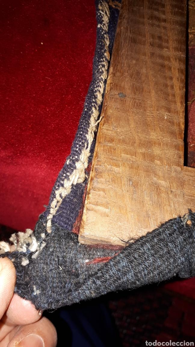 Arte: Imágene de Jesús en tapiz hecho a mano con lana y algodón - Foto 7 - 187421108