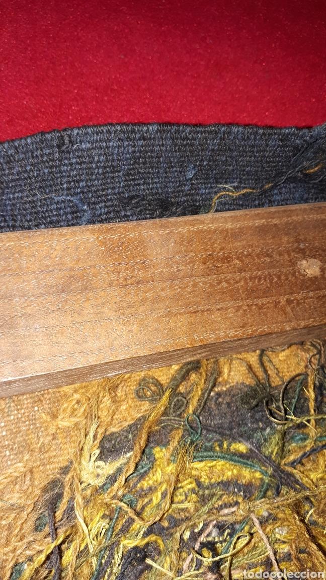 Arte: Imágene de Jesús en tapiz hecho a mano con lana y algodón - Foto 8 - 187421108