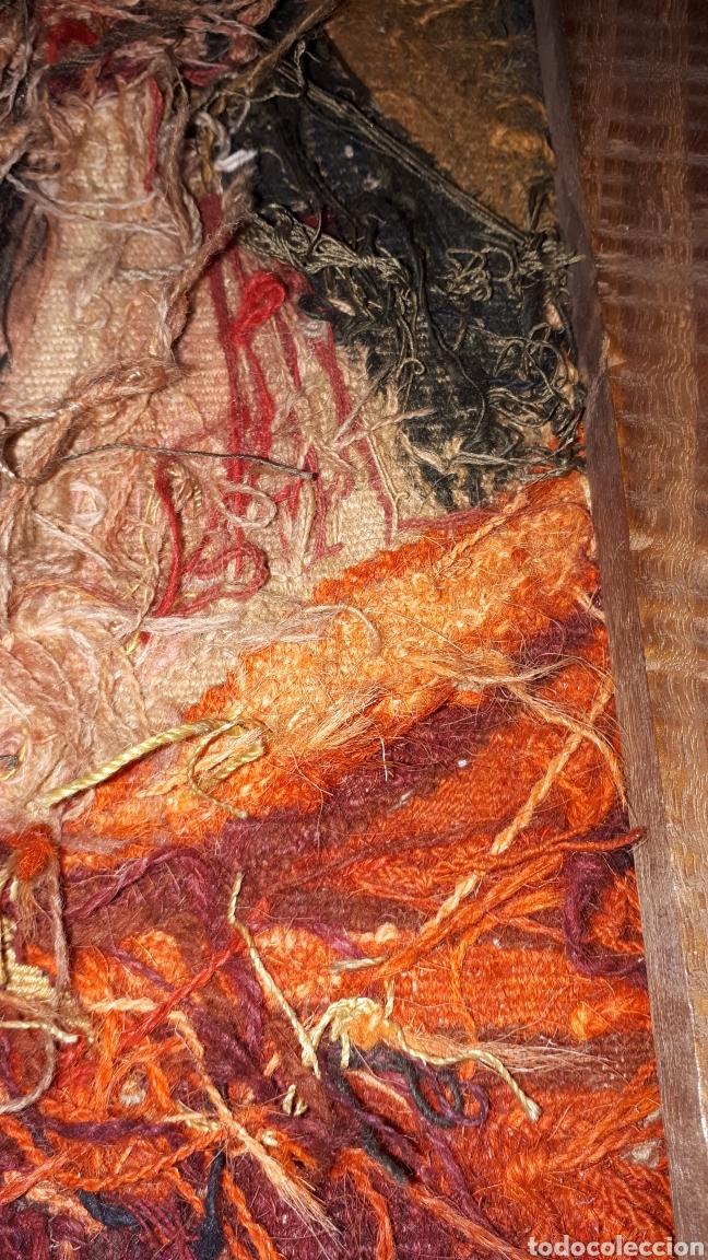 Arte: Imágene de Jesús en tapiz hecho a mano con lana y algodón - Foto 9 - 187421108