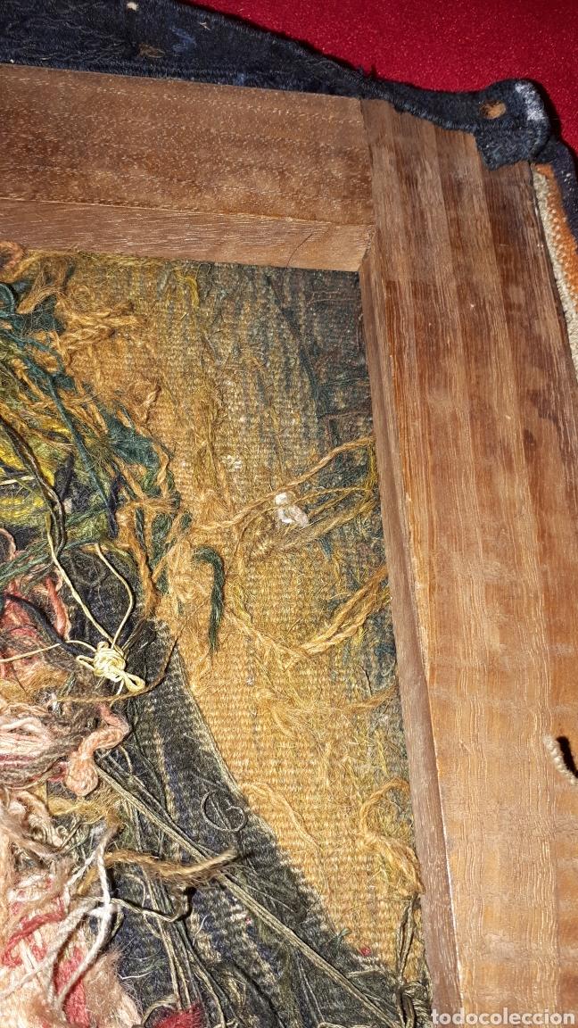 Arte: Imágene de Jesús en tapiz hecho a mano con lana y algodón - Foto 10 - 187421108