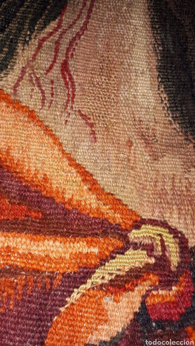 Arte: Imágene de Jesús en tapiz hecho a mano con lana y algodón - Foto 13 - 187421108