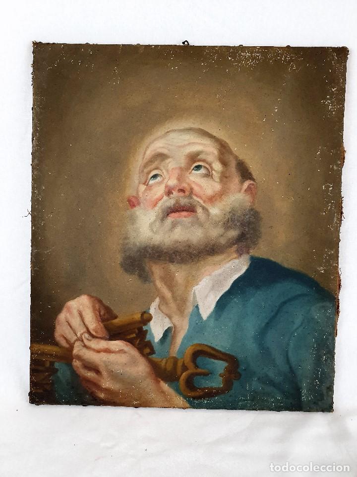 Arte: Magnifica coleccion de oleos sobre lienzo de los 12 Apostoles - Foto 5 - 187447375