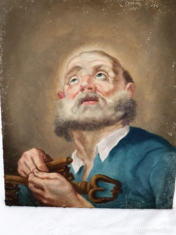 Arte: Magnifica coleccion de oleos sobre lienzo de los 12 Apostoles - Foto 6 - 187447375