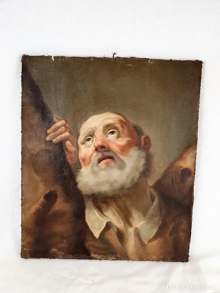 Arte: Magnifica coleccion de oleos sobre lienzo de los 12 Apostoles - Foto 7 - 187447375